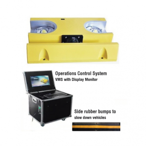 2MPUVS Portable Under Vehicle Inspection System