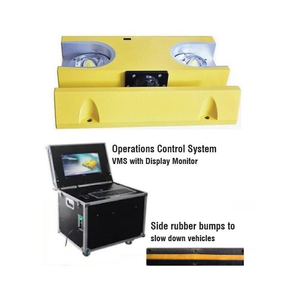 2MPUVS Portable Under Vehicle Inspection System