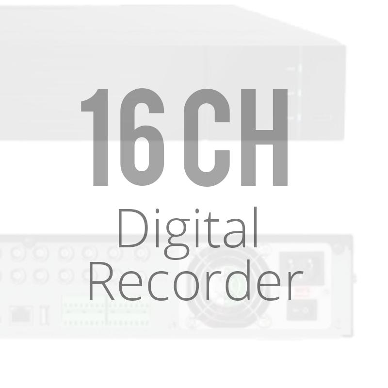 16 Channel Digital Video Recorder DVRs