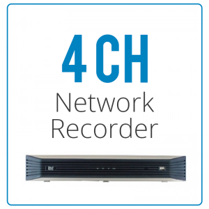 4 Channel Network Video Recorder NVRs