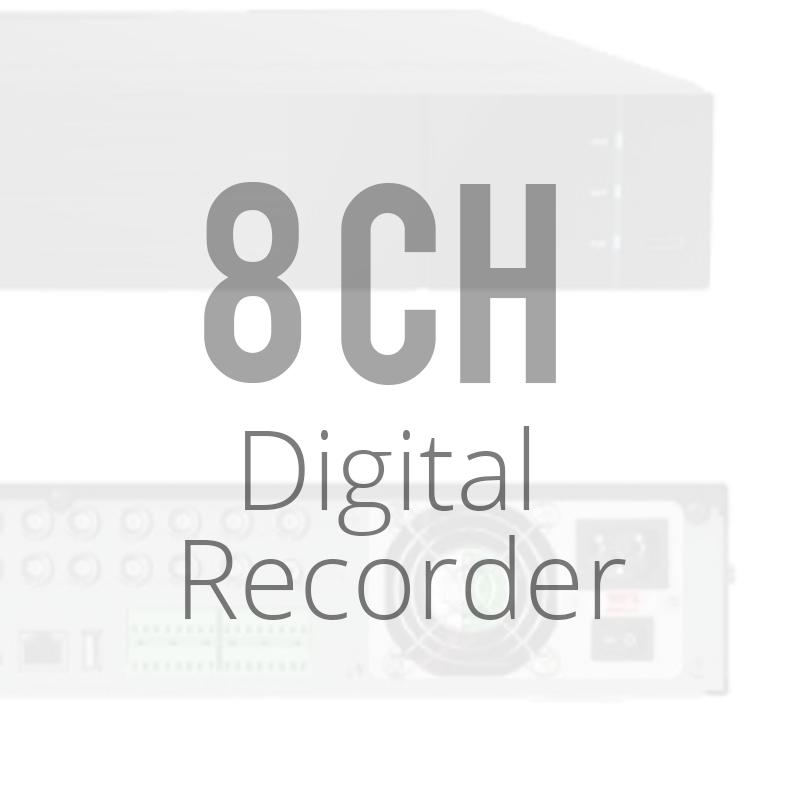 8 Channel Digital Video Recorder DVRs