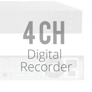 4 Channel Digital Video Recorder DVRs