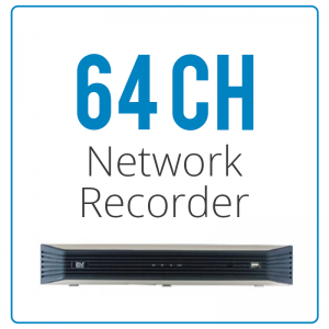64 Channel Network Video Recorders
