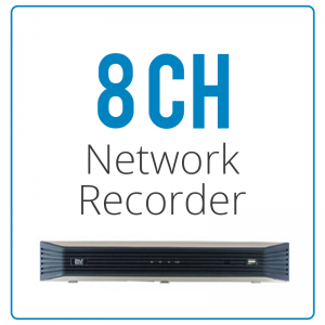 8 Channel Network Video Recorders