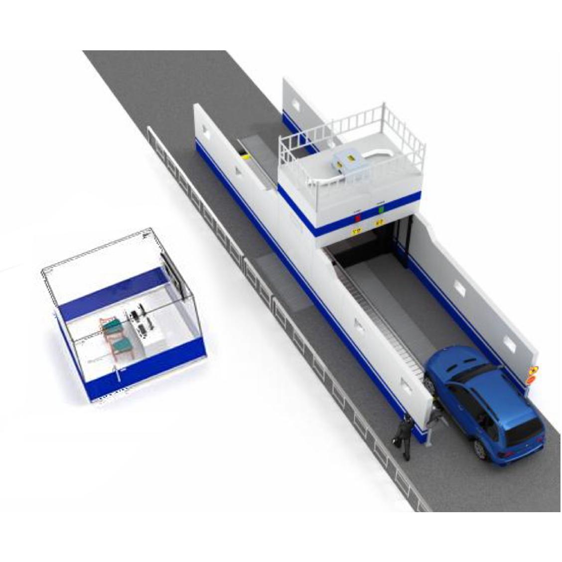 2MX-280300-320KVU Vehicle Inspection System with Conveyor Belt