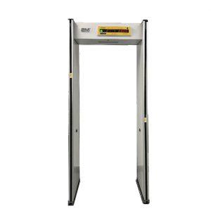 2MTHWT-HMD-1 Human Body Temperature Measurement Metal Security Gate