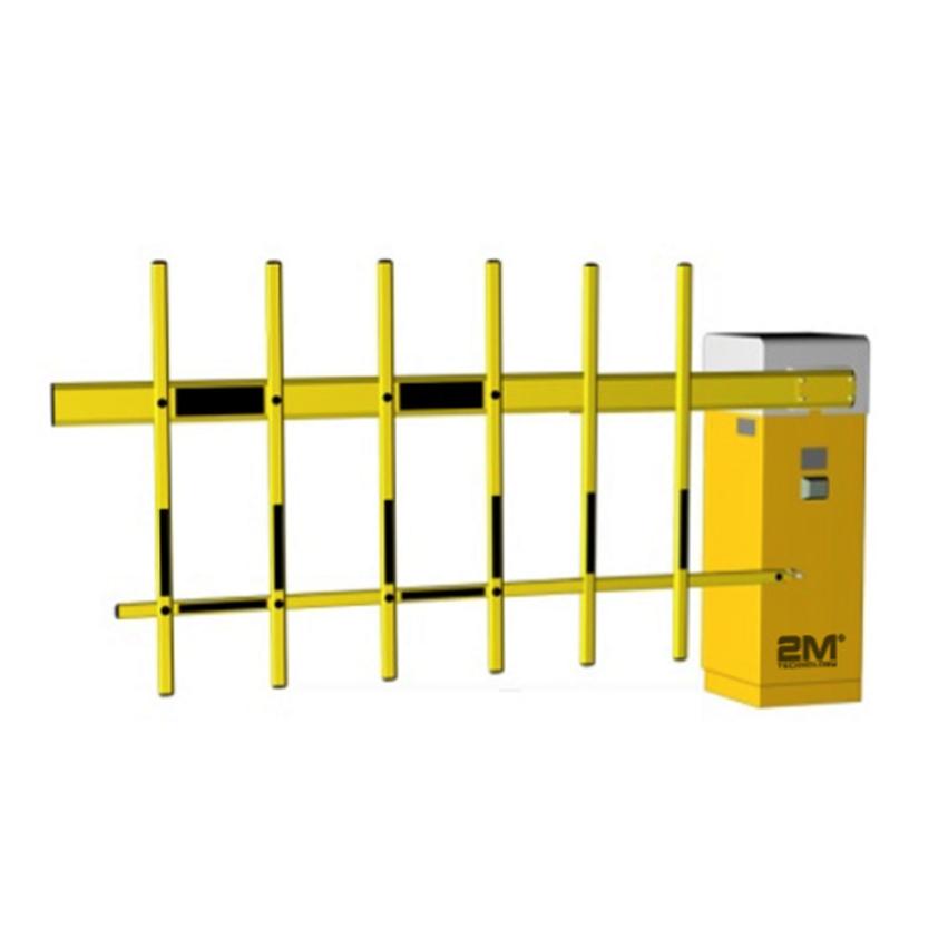 2MAGB-NFN Single Fence Intelligent Barrier Gate (DC24V Brushless Servo Torque Motor)