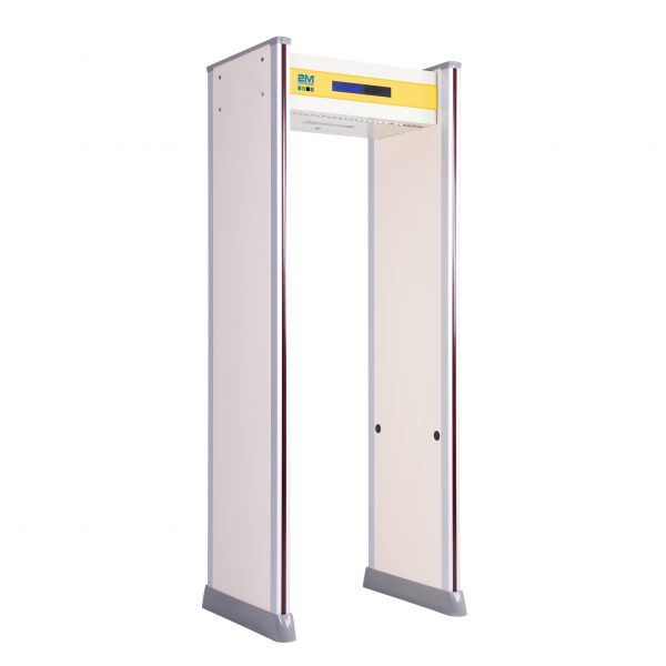2mwt-O18Z Outdoor Rated, 18 Zone Walkthrough Metal Detector with Intelligent DSP