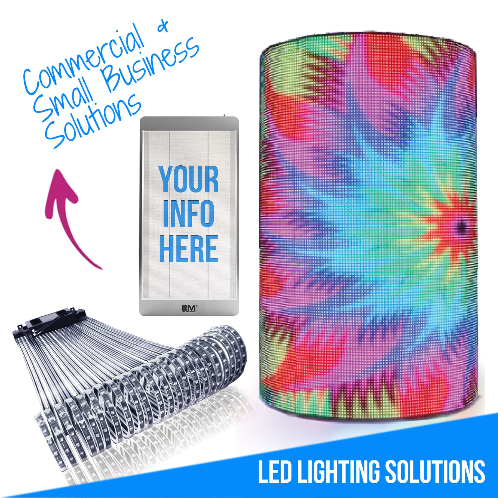 Commercial and Small Business LED Lighting Solutions